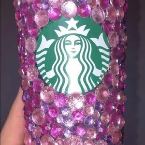 Pretty in pink Starbucks venti tumbler